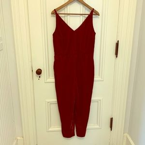 Women's velvet jumpsuit